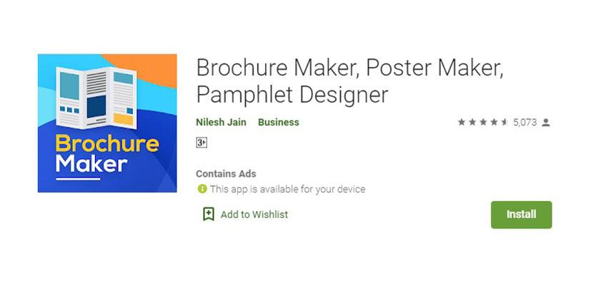 Brochure Maker Poster Maker Pamphlet Designer Aplikasi Pembuat Poster