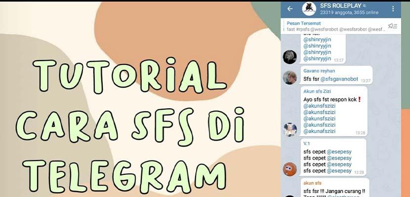 Cara Main SFS RP Telegram