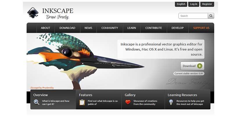 Aplikasi Pembuat Poster Inkscape