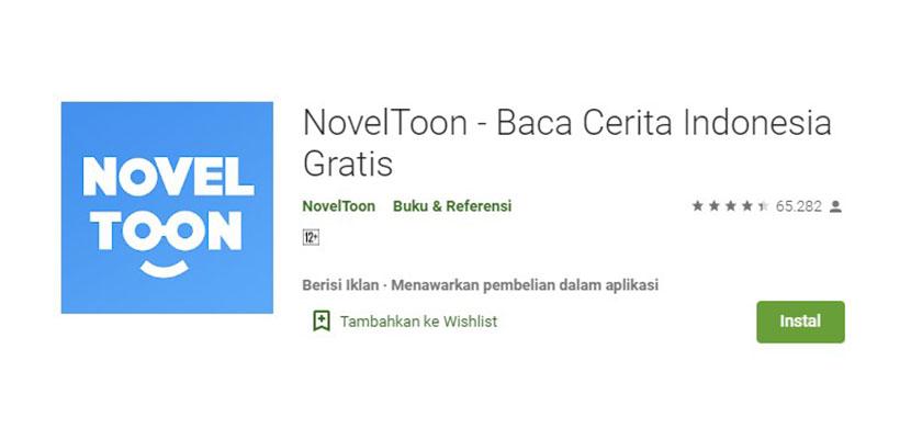 Aplikasi Baca Novel Online NovelToon
