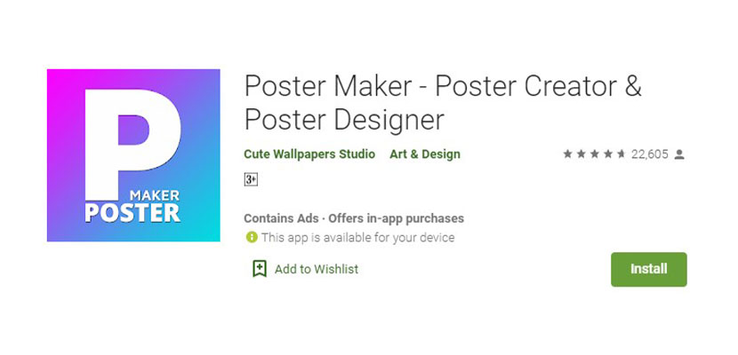 Poster Maker Poster Creator Poster Designer