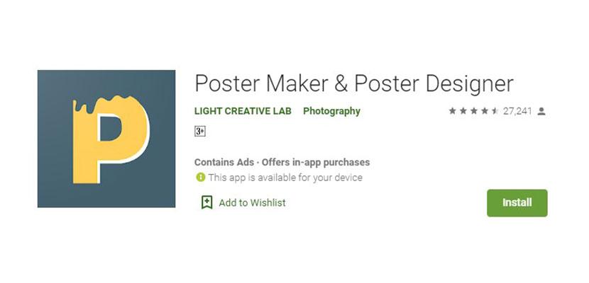 Poster Maker Poster Designer Aplikasi Pembuat Poster