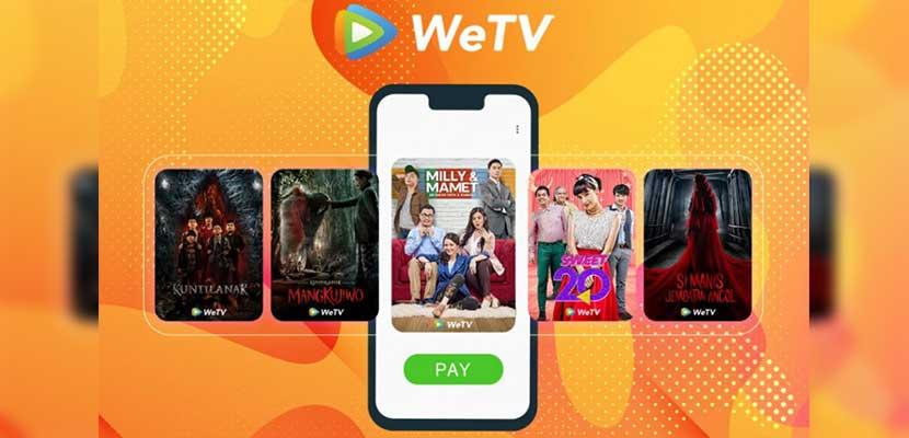 Syarat Ketentuan Unduh Konten di WeTV