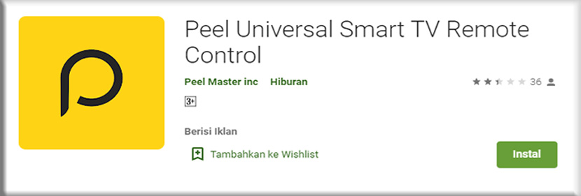 15. Peel Universal Smart TV Remote Control