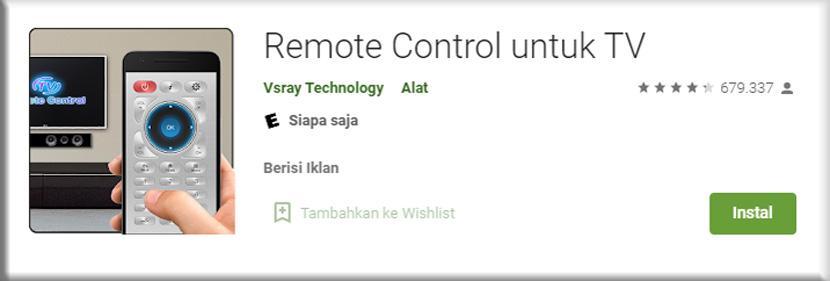 2. Remote Control for TV