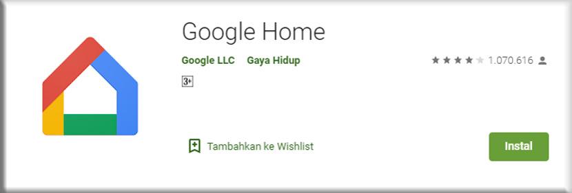 3. Google Home