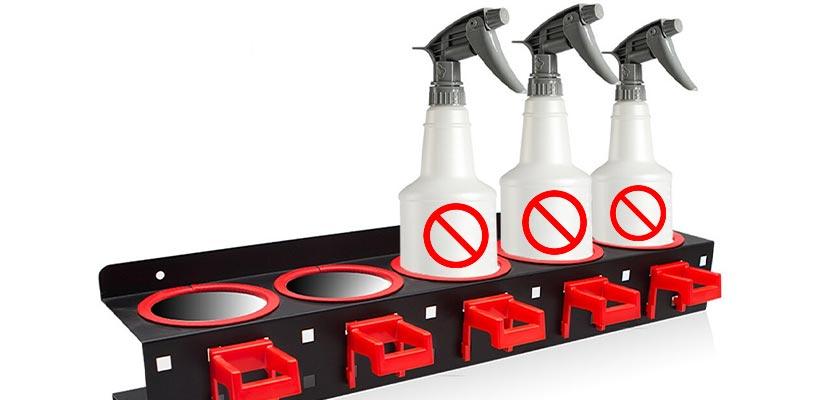 3. Jangan Gunakan Cairan Pembersih Abrasif