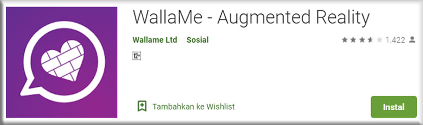 4. WallaMe Augmented Reality