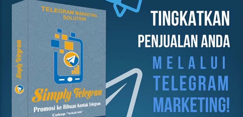 5. Jasa Pengelolaan Channel Telegram