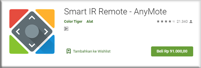 6. Smart IR Remote Anymote