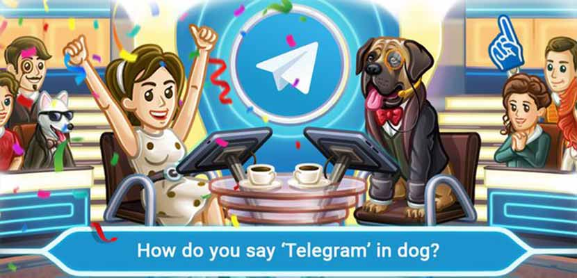 7. Memburu Kuis di Telegram