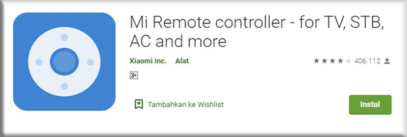 8. Mi Remote controller