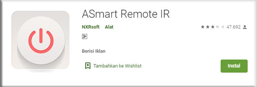 9. ASmart Remote IR