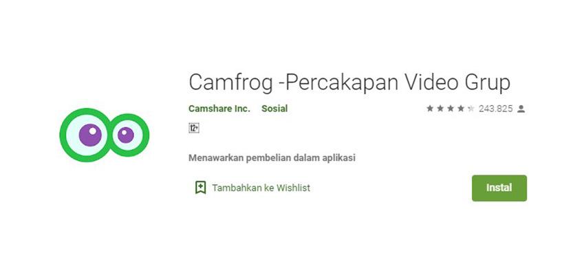 Camfrog Aplikasi Mirip Gogo Live