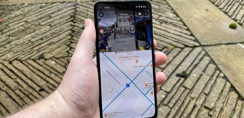 Cara Menggunakan Google Maps Street View dengan Split Screen di Android 1