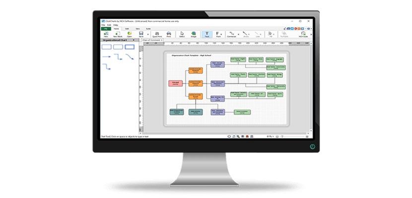 Aplikasi Membuat Flowchart ClickCharts