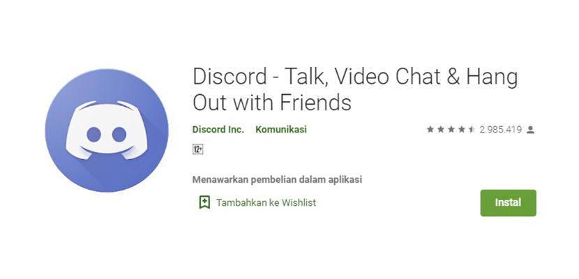Aplikasi Chatting Selain WhatsApp Discord