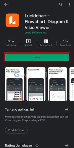Download Aplikasi Lucidchart
