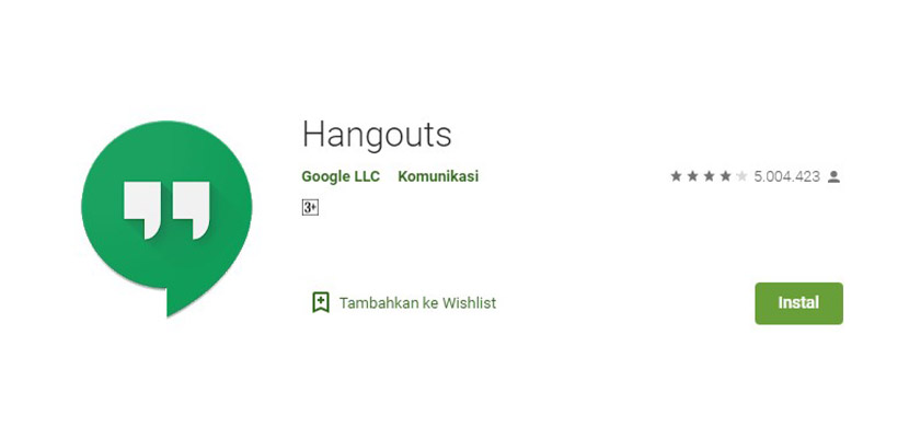 Aplikasi Chatting Selain WhatsApp Hangouts