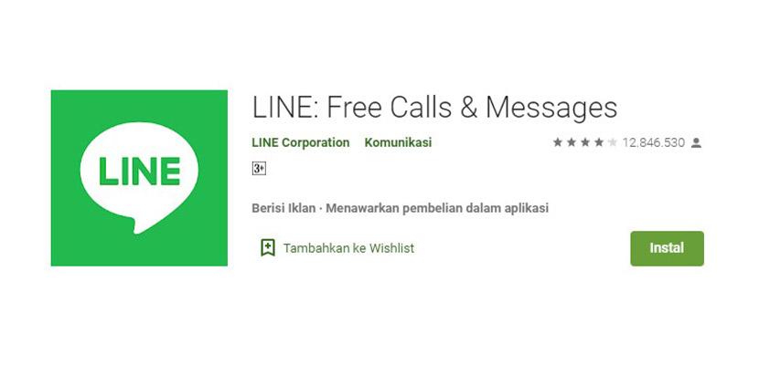 Aplikasi Chatting Selain WhatsApp LINE
