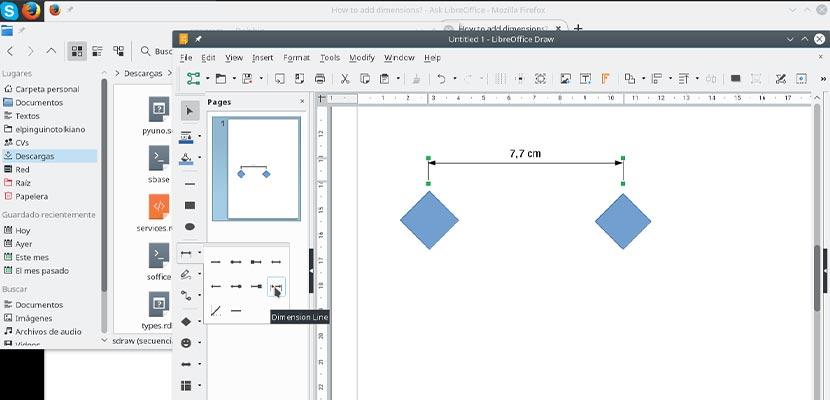 Aplikasi Membuat Flowchart LibreOffice Draw
