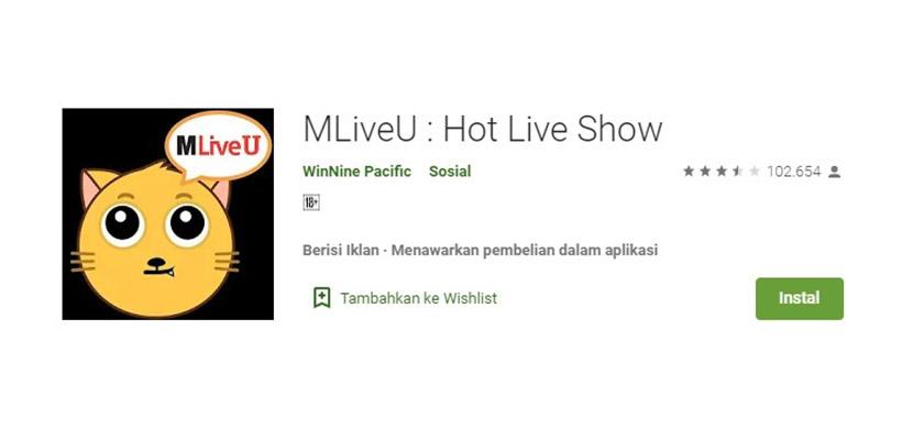 MLiveU Aplikasi Mirip Gogo Live