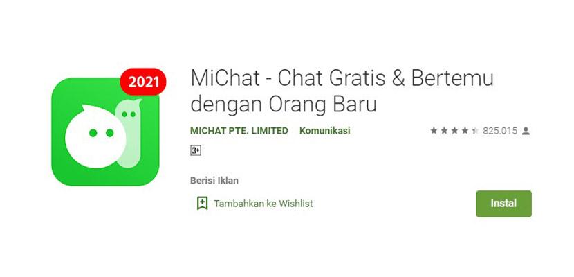 Aplikasi Chatting Selain WhatsApp MiChat