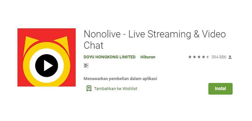 Nonolive Aplikasi Mirip Gogo Live