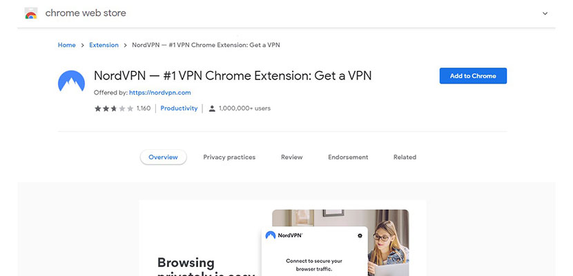 Add On Proxy Google Chrome NordVPN