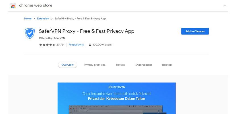 SaferVPN Proxy