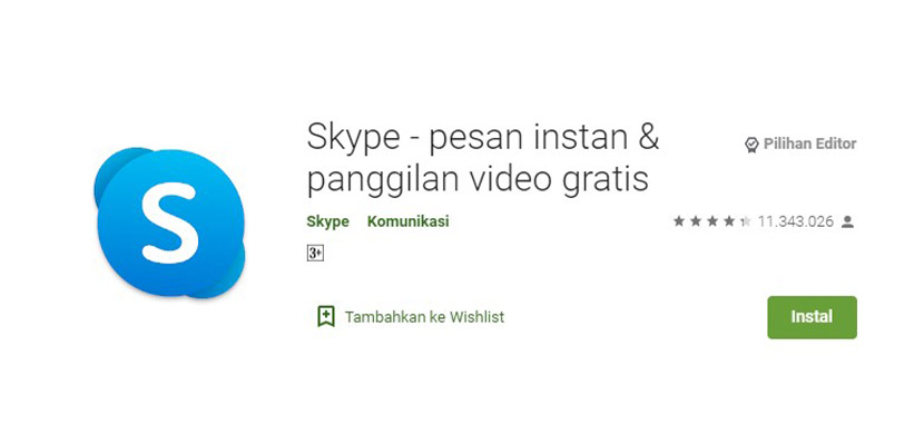 Aplikasi Chatting Selain WhatsApp Skype