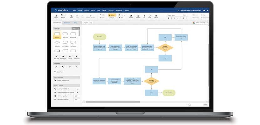 Aplikasi Membuat Flowchart SmartDraw