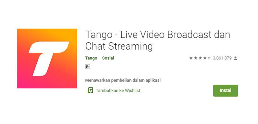 Tango Aplikasi Mirip Gogo Live