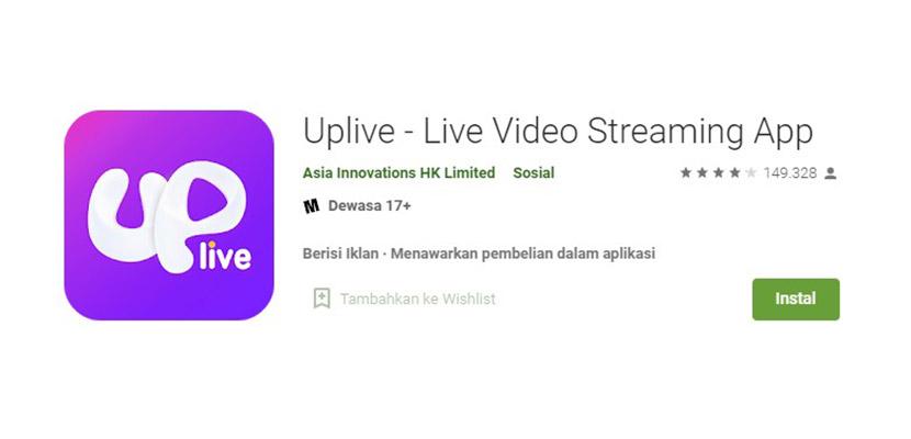 Uplive Aplikasi Mirip Gogo Live