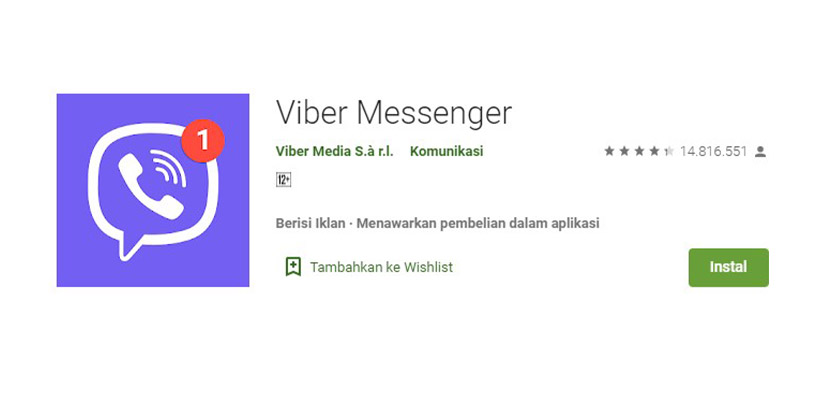 Aplikasi Chatting Selain WhatsApp Viber Messenger