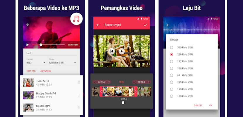 3. Convert MP4 ke MP3 dengan Aplikasi InShot