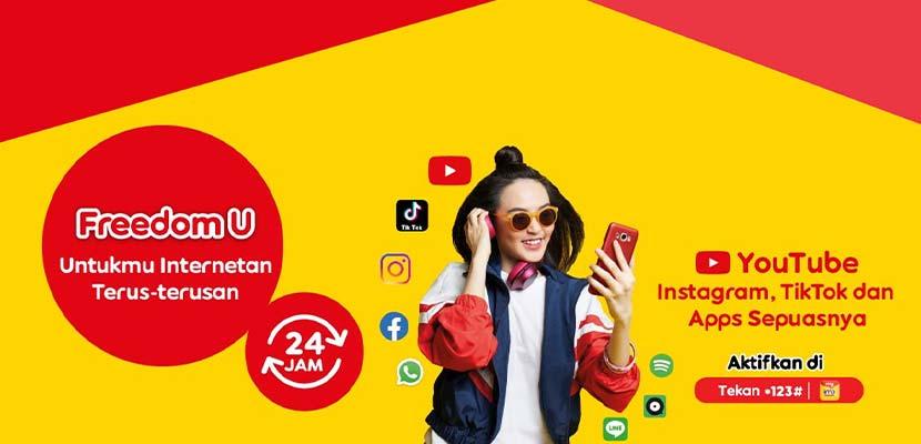 Cara Dapat Kuota Gratis Indosat 1