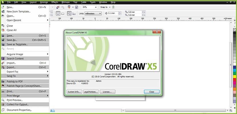 Cara Mengatasi Corel Draw X5 Tidak Bisa Save