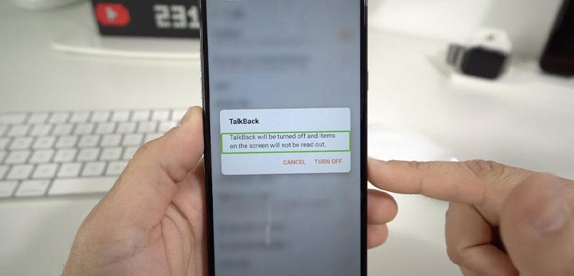 Cara Menonaktifkan Talkback Xiaomi 1
