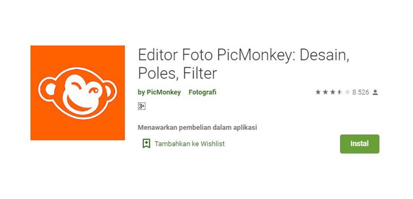 Editor Foto PicMonkey