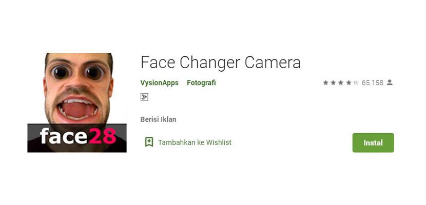 Face Changer Camera