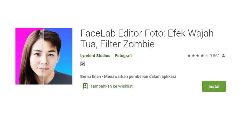FaceLab Editor Foto