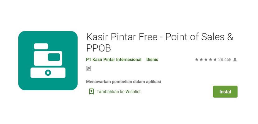 Kasir Pintar Free