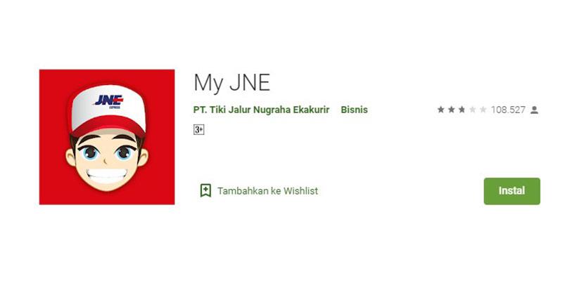 My JNE Aplikasi Cek Ongkir Terbaik