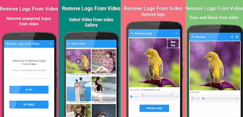 Pakai Remove Logo From Video di Smartphone