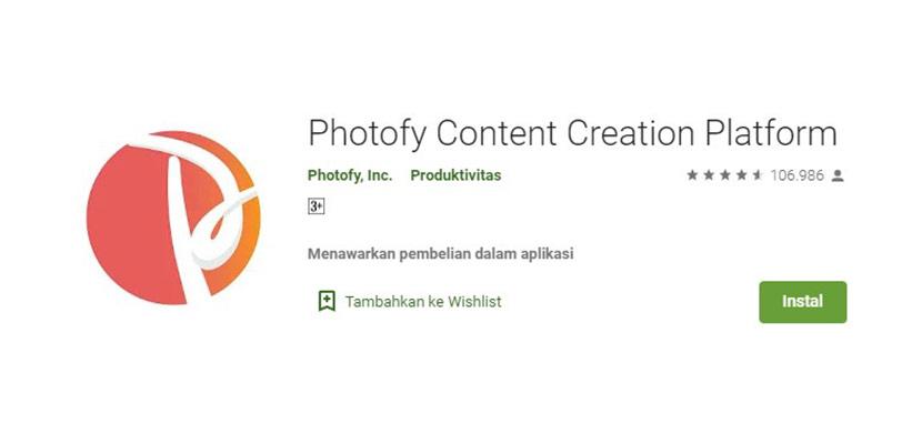 Photofy Content Creation Platform