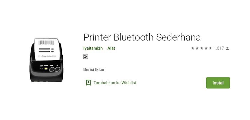 Printer Bluetooth Sederhana