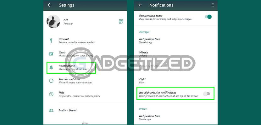 4. Cegah Orang Lain Melihat Pesan WhatsApp