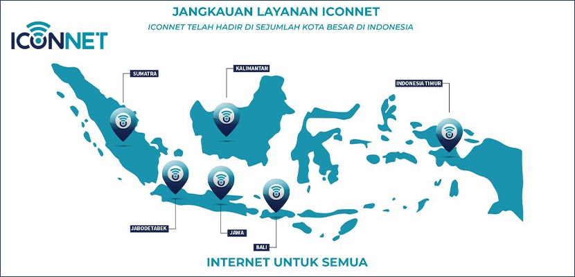 Area Jangkauan Iconnect PLN