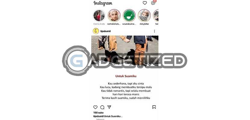 Buka Instagram